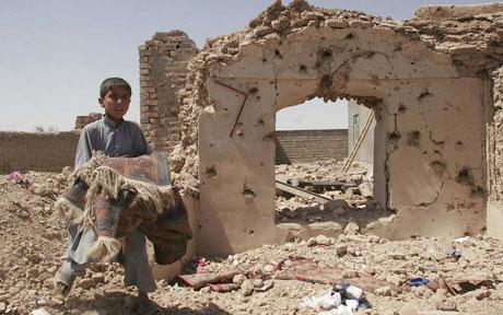 House in Ruins.Herat